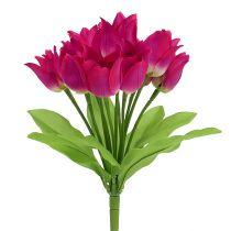 Tulppaaniholkki vaaleanpunainen L 30cm