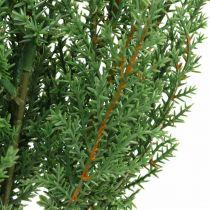 Kataja oksa keinotekoinen vihreä deco oksa joulu 39cm 6kpl 6kpl