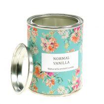 Tuoksukynttilä Vanilja kukkalaatikossa Ø6,5cm