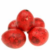 Viiriäisen munat punaiset puhalletut munat 50p