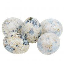 Viiriäisen munat valkoinen marmoroitu 3,5cm - 4cm 60kpl