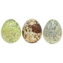 Viiriäisen munat Lajitelma Vihreä, Luonnollinen 3cm 72kpl 72kpl