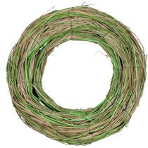 Ruskea seppele pajuun / vihreä Ø40cm