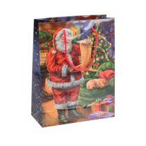 Paperipussi Joulupukki 11cm x 13,5cm