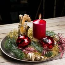 Joulukoriste koriste hahmo poropuu 21cm
