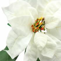 Joulutähti tekokukka valkoinen 67cm