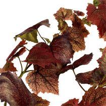 Viiniköynnöksen lehdet köynnösnauha tummanpunainen 190cm