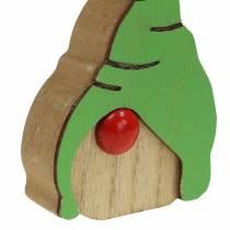 Gnome puu 6,5x9cm 10kpl valikoituna