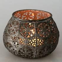 Lyhty Orient Antiikki Hopea Ø13cm K9,5cm