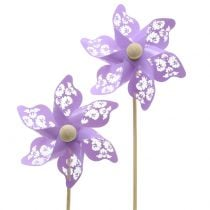 Tuulimylly mini violetti Ø9cm 12kpl