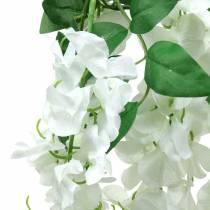 Garland wisteria valkoinen 175cm 2kpl