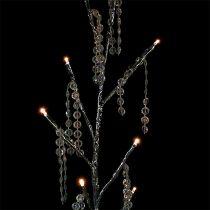 Oksahopea timanteilla, LED 75cm, 2 kpl