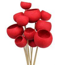 Bell Cup on a Stick Mix Punainen 15kpl