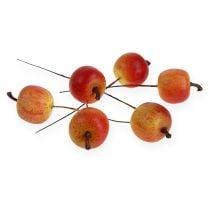 Keinotekoinen omena 3cm langalla 24kpl