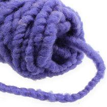 Huopanaru fleece Mirabell 25m violetti