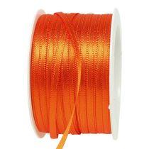 Lahja- ja koristelista 3mm 50m oranssi