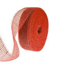 Juuttinauha punainen 5cm 40m
