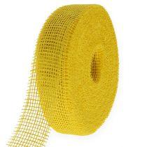 Juuttinauha Keltainen 5cm 40m