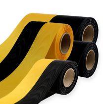 Seppeleiden nauhat moiré keltainen-musta
