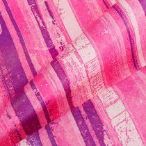 Mansettipaperi 25cm 100m Vaaleanpunainen, Vaaleanpunainen