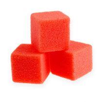 Märkä vaahto mini-kuutio punainen 300p