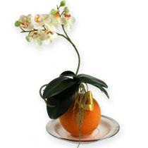 Kukka vaahtopallot oranssi 9cm 4kpl