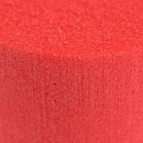 Tulpan mitat sylinteri Ø8cm punainen 6kpl