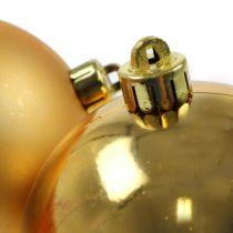 Joulupallo kultainen 10cm 4kpl