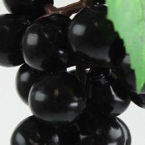 Keinotekoiset mini-viinirypäleet, musta 9cm