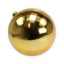 Joulu Ball Medium Gold 20cm Muovi