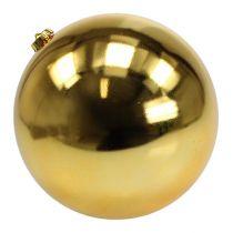 Joulupallo Muovi Suuri Kulta Ø25cm