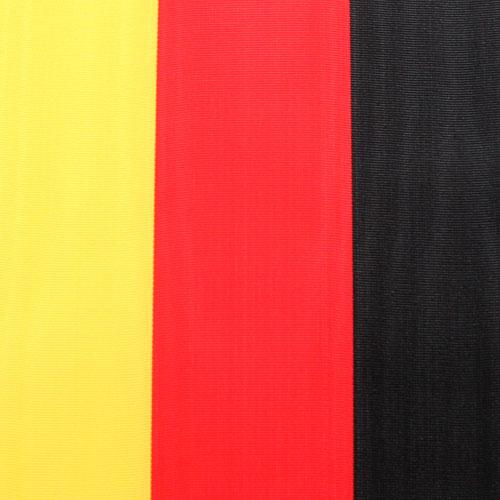 Seppeleiden nauhat moiré musta-punainen-kulta