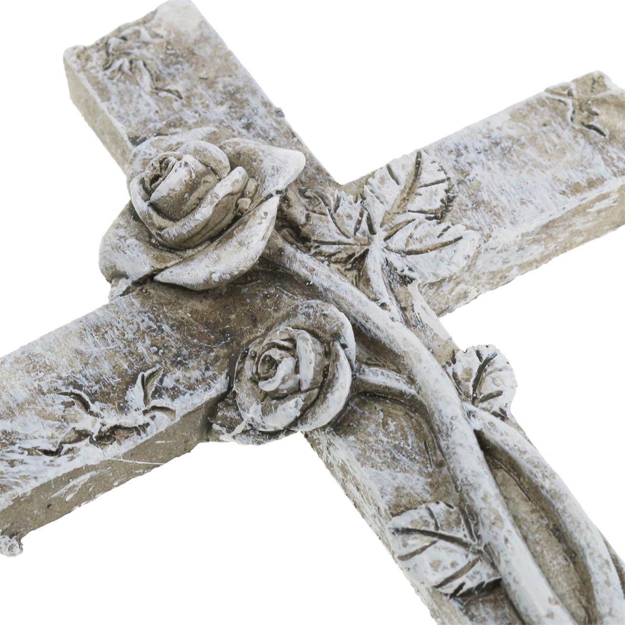 Hautakoristeellinen risti 7,5 cm x 11 cm 4 kpl