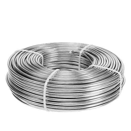 Alumiinilanka 3mm 1kg hopea