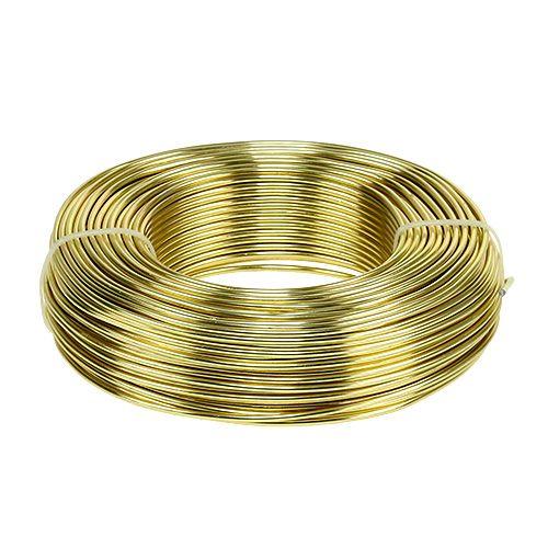 Alumiinilanka Ø2mm 500g 60m Kulta kultainen
