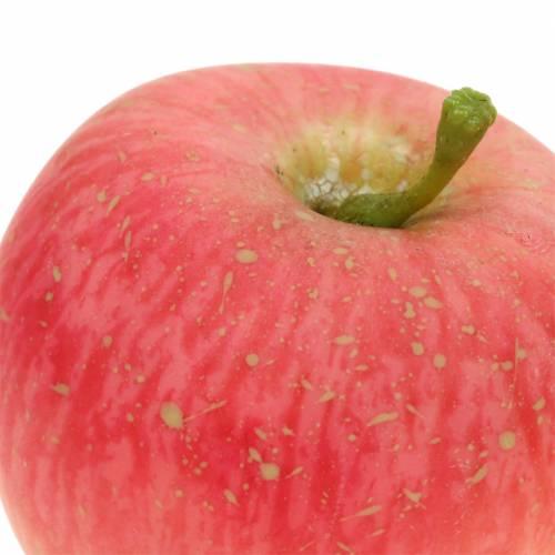 Koristeellinen omena vaaleanpunainen, keltainen Real-Touch 6.5cm 6kpl