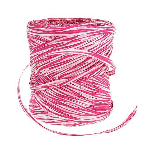 Bast lahjanauha vaaleanpunainen-valkoinen 200m