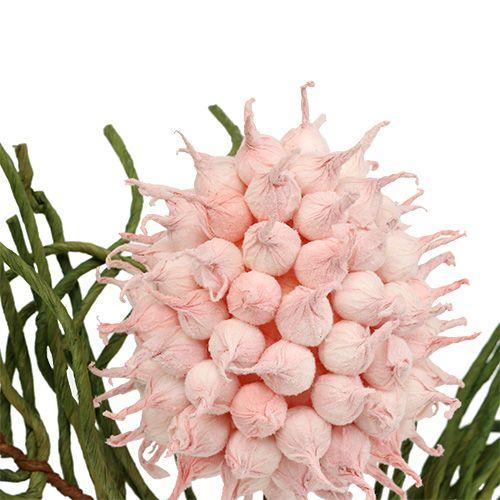 Blossom haara vaahto vaaleanpunainen / vihreä 65cm