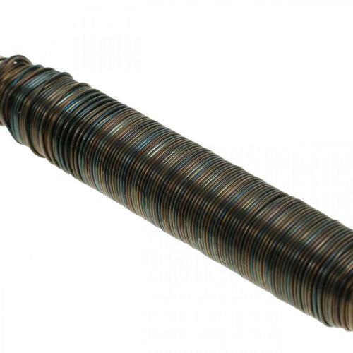 Kukkakääre lanka sininen hehkutettu 0,65mm 100g 100g