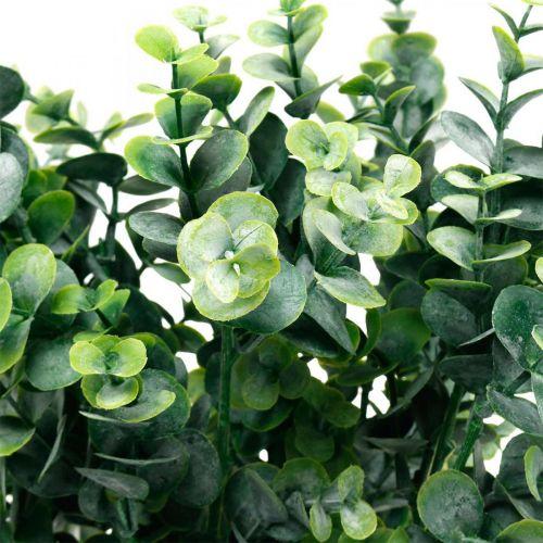 Deco Eukalyptus oksa tummanvihreä keinotekoinen Eukalyptus keinotekoinen vihreä kasveja 6kpl