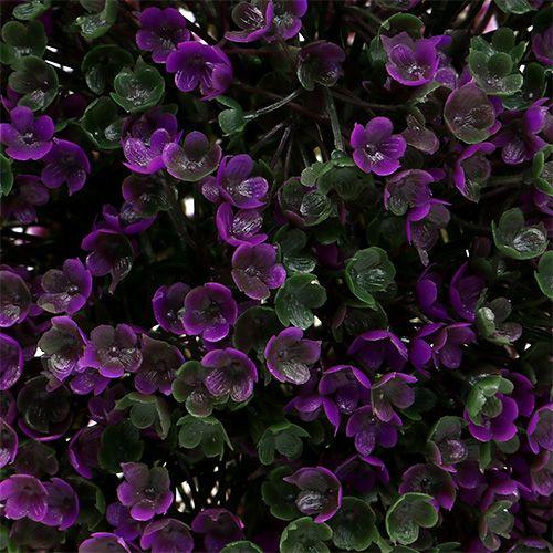 Koristeellinen lila kukista Ø18cm 1kpl