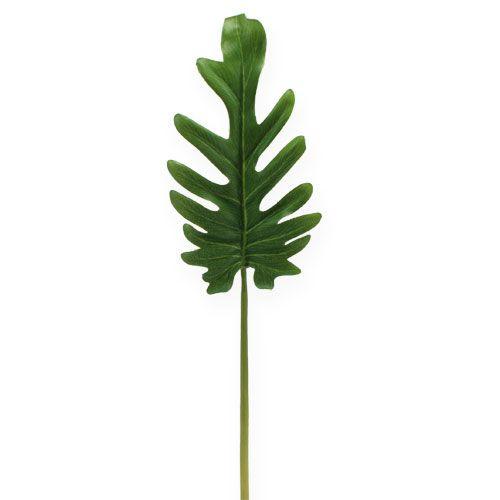 Koristeelliset lehdet Philodendron green W11cm L34cm 6kpl