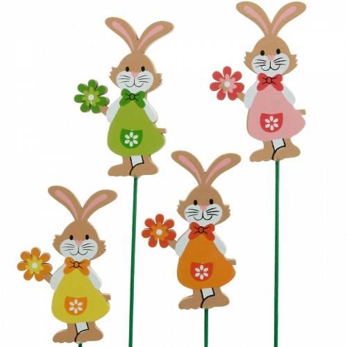 Koristetulppa pääsiäispupu kukka pääsiäinen koriste puu pupu kiinni 24kpl