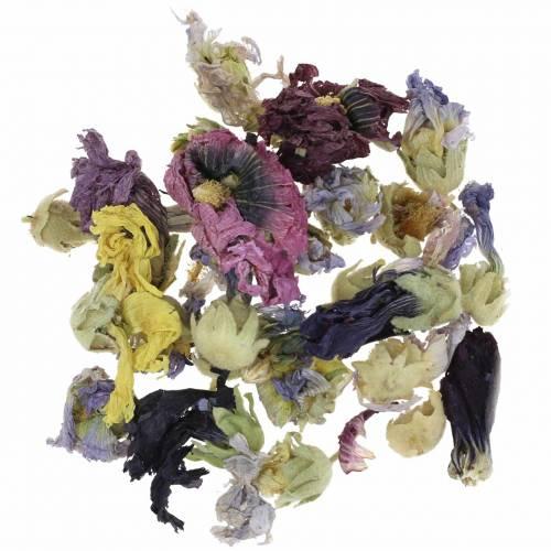 Kuiva sisustus käsityöpaketti Echter Eibisch Natur 300g kukka potpourri