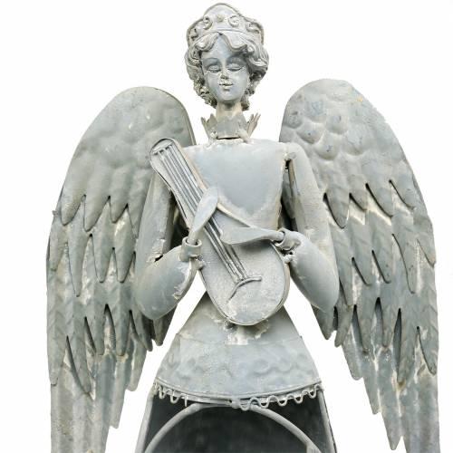 Koristeellinen enkeli metalli 72cm