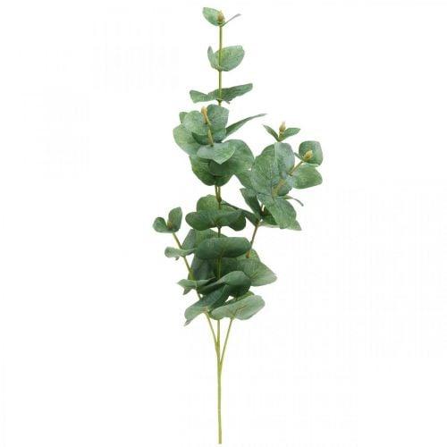 Eukalyptus oksa keinotekoinen vihreä kasvi Eukalyptus Deco 75cm