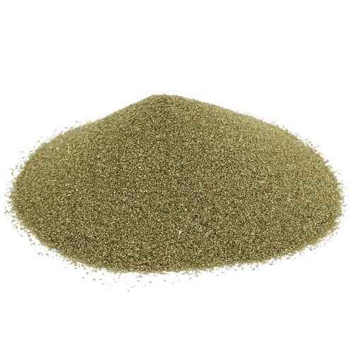 Värillinen hiekka 0,5mm keltakulta 2kg
