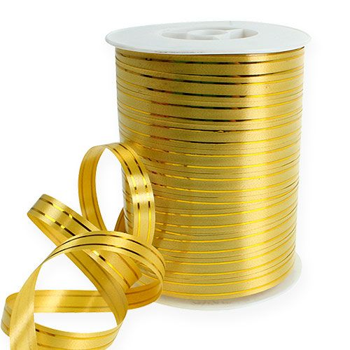 Jaettu nauha 2 kultanauhaa kullalla 10mm 250m