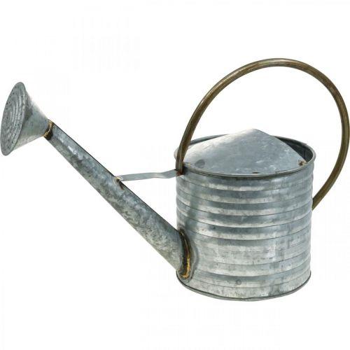 Kastelukannu Metalli Antiikki Look 52×20×33cm