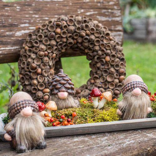 Syksyn koriste Tammenterho Luonnon seppele Ø30cm